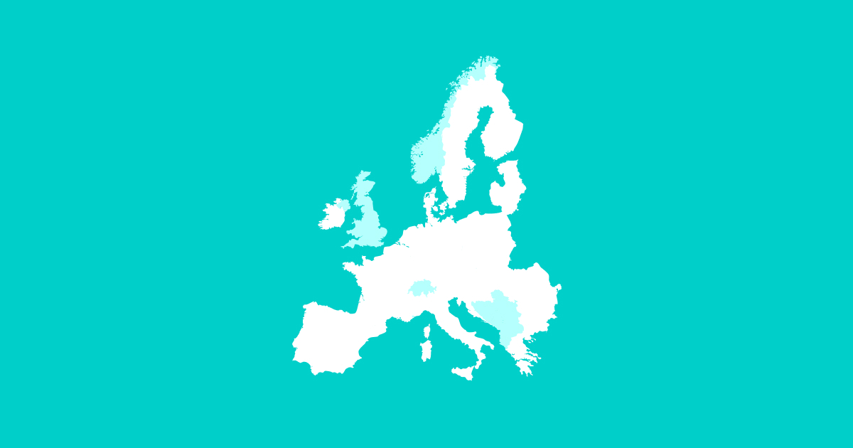В этой таблице мы сравнили 7 европейских финтех-юрисдикций: Великобританию, Литву, Испанию, Мальту, Кипр, Ирландию и Польшу.