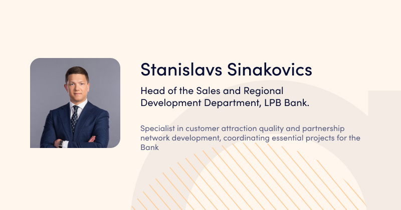 Stanislavs Sinakovics, LPB - speaker at Advapay_webinar - BaaS Webinar
