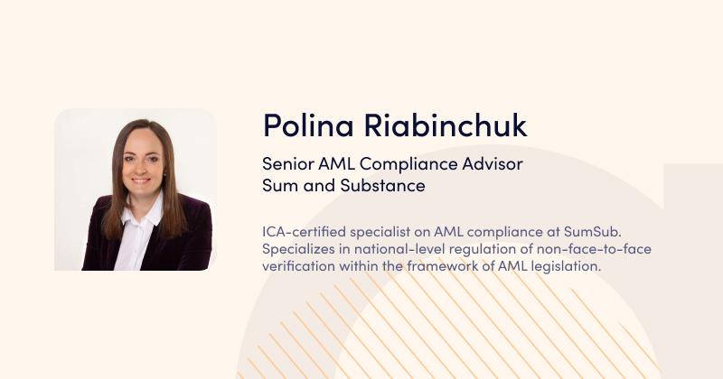 Webinar BaaS Polina Riabinchuk Sumsub